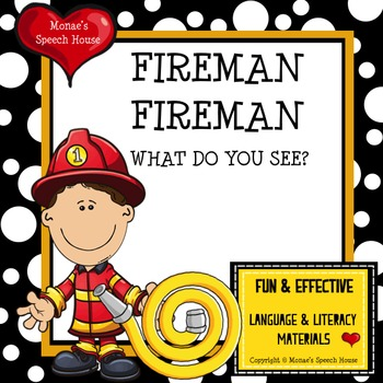 Fireman Community Helper