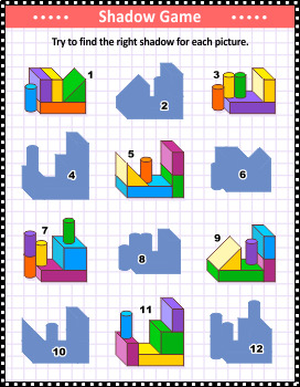 Shadow Game with Building Blocks 2, Commercial Use Allowed