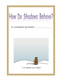 Shadow Investigation - Grade 4 Science Light and Shadow