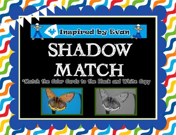 Shadow Match Cards Bundle for Autism