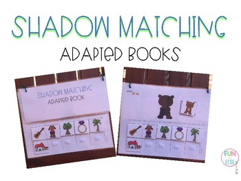 Shadow Matching Adapted Books