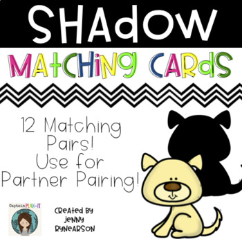 Shadow Matching Cards!
