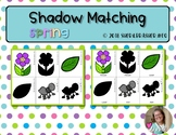 Shadow Matching Cards   Spring  