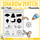 Shadow Matching Chinese New Year Cut & Paste Worksheets