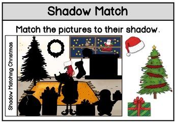Shadow Matching Christmas