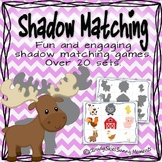 Shadow Matching Game Mats - over 20 sets
