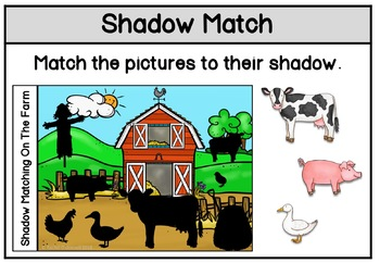 Shadow Matching On The Farm