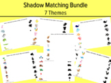 Shadow Matching, Preschool Matching Activity, Kindergarten