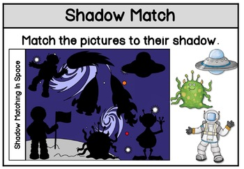 Shadow Matching Space