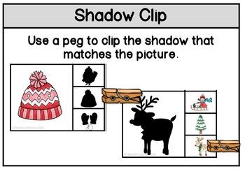 Shadow Matching Winter
