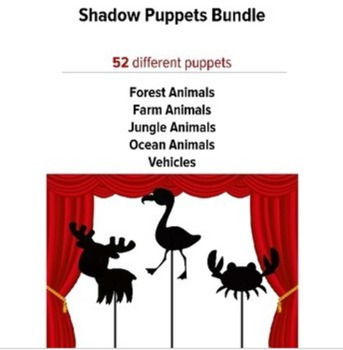 Shadow Puppets Bundle, preschool music and movement