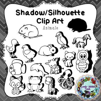 Shadow/Silhouette Clip Art: Animals
