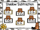 Shadow Subtraction:  NO PREP Groundhog Day Themed Grab and Cover Game