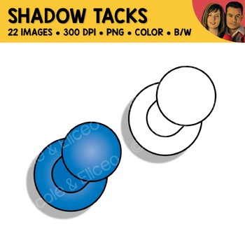 Shadow Tack Clipart