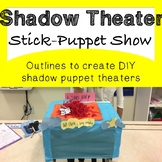 Shadow Theatre Stick Puppet Outline Planner *Fun Drama Activity*