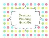 Shadow Writing Bundle-- all 9 sets together for BIG SAVINGS!