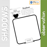 Shadow  observation sheet