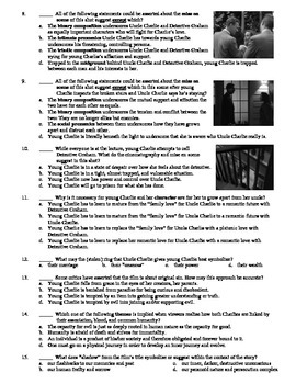 Shadow of a Doubt Film (1943) 15-Question Multiple Choice Quiz
