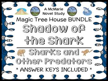 Shadow of the Shark | Sharks and Other Predators : Magic Tree House BUNDLE