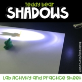 Shadows Lab and Activity Sheet