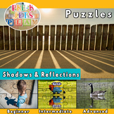 Shadows and reflections | Picture Puzzle Printables | Fine