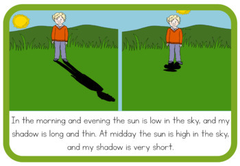 Groundhog and His Shadow - Shadows book (simplified version)