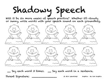 Shadowy Speech:  Open Ended Articulation