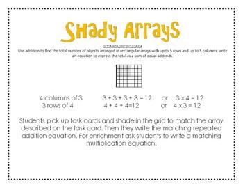 Shady Arrays
