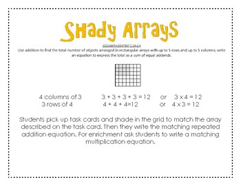 Shady Arrays