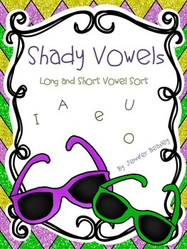 Shady Vowels--Long and Short Vowel Sort