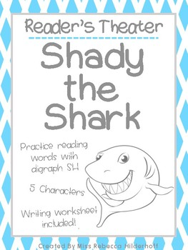 Shady the Shark Reader's Theater Digraph SH Practice