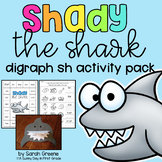 Shady the Shark (digraph sh activity pack!)