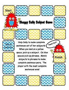 Shaggy Sally Subject Game