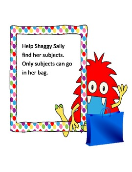 Shaggy Sally Subject Game