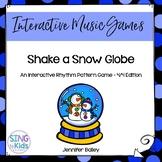 Shake A SnowGlobe: An Interactive Rhythm Pattern Game