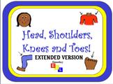 Shake Break/Brain Break for ESL/ESOL Students: Head, Shoulders, Knees & Toes