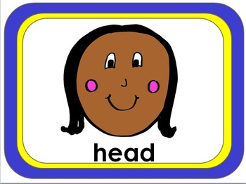 Shake Break/Brain Break for ESL Students: Head, Shoulders, Knees & Toes (short)