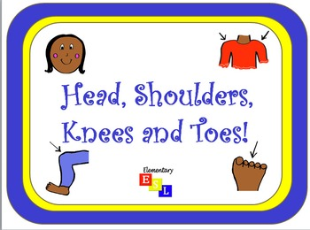 Shake Break/Brain Break for ESL Students: Head, Shoulders,
