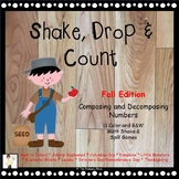 Shake, Drop and Count - Shake and Spill Math Games - Fall Edition