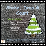 Shake, Drop and Count - Shake and Spill Math Games - Winter Edition