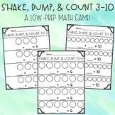Shake, Dump, & Count 3-10