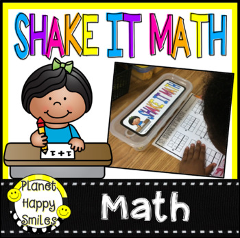 Shake It Math Stations For Egg Cartons