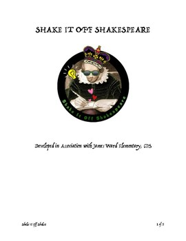 Shake It Off Shakespeare Sample