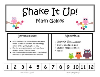 Shake It Up!  Measurement Game