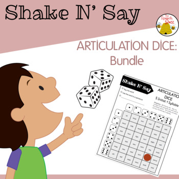 Shake N' Say Articulation Dice MEGAPACK