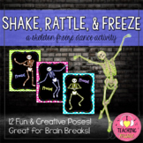 Shake, Rattle, & Freeze! - A Skeleton Freeze Dance Activity
