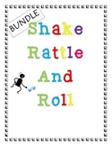Shake Rattle and Roll: Addition with 3, 4, or 5 Addends