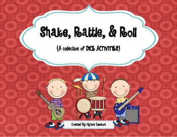Shake, Rattle, and Roll (Ordering, adding, and graphing numbers using dice)