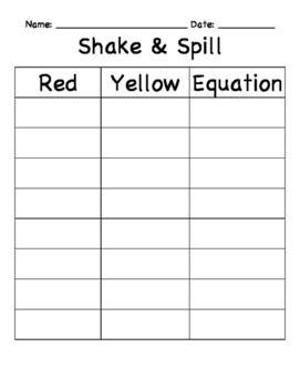 Shake & Spill