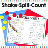 Shake, Spill, Count Number Fluency to Ten
